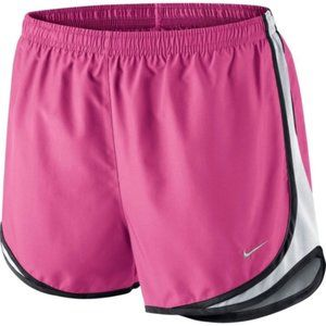 NIKE Women's Pink Dri-Fit Tempo Running Short sz M